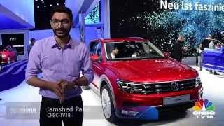 Frankfurt Motor Show 2015: India-bound Volkswagen Tiguan unveiled