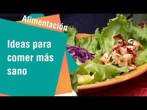 Ideas entretenidas para comer más sano | Alimentación