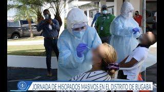 Personal de la Policlínica Pablo Espinosa Batista, realizó más de cien hisopados