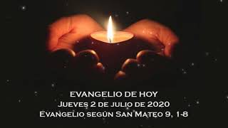 Evangelio del jueves 2 de julio de 2020