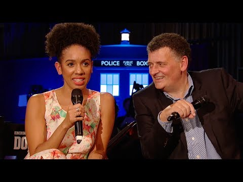 FULL Q&A With Pearl Mackie & Steven Moffat - #DWFinaleCountdown - Doctor Who: Series 10