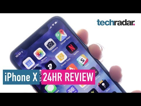 iPhone X 24hr review