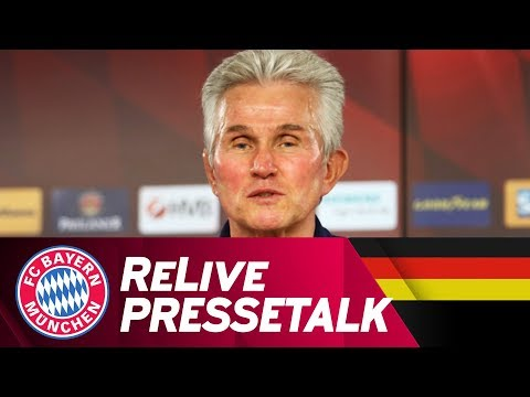 ReLive | FC Bayern Press Conference w/ Jupp Heynckes ahead of #HSVFCB