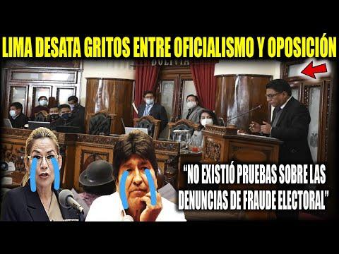 """Interpelación Ministro de Justicia """"No hubo fraude electoral en 2019"""""""