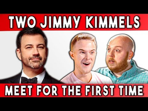 connectYoutube - TWO JIMMY KIMMELS MEET FOR THE FIRST TIME | Talking With Myself Ep #2 (FBE)