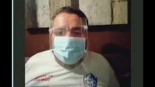 Don Adrián Cordero: 'Oremos por los enfermos de este virus'