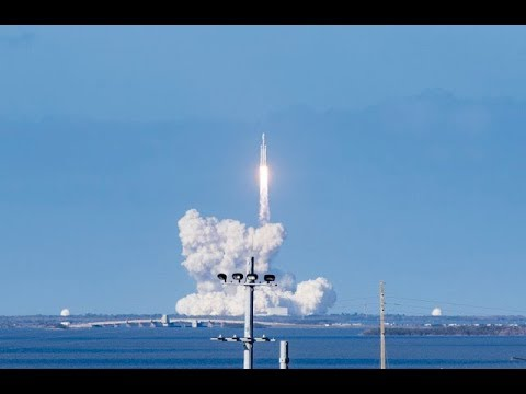 SpaceX's historic Falcon Heavy launch – what it's like to be there