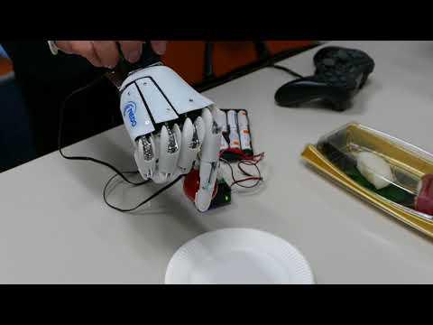 都立産業技術高専とダブル技研によるロボットハンド