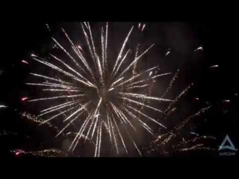 Томск Новый год с высоты