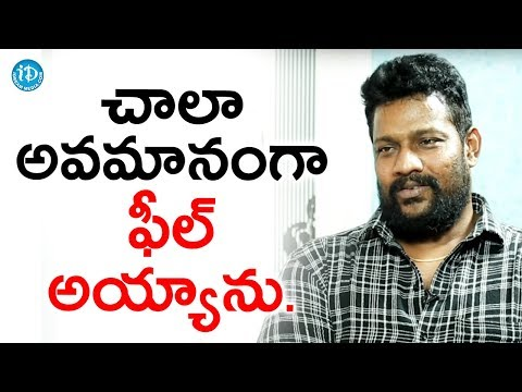 I Felt Insulted At That Moment - Prabhakar || Talking Movies With iDream