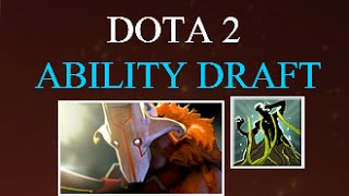 Dota 2 Ability Draft Juggernaut Gameplay Commentary