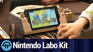 Nintendo Labo Kit First Look