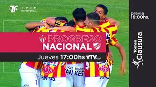 Fecha 8 - Progreso vs Nacional - Clausura