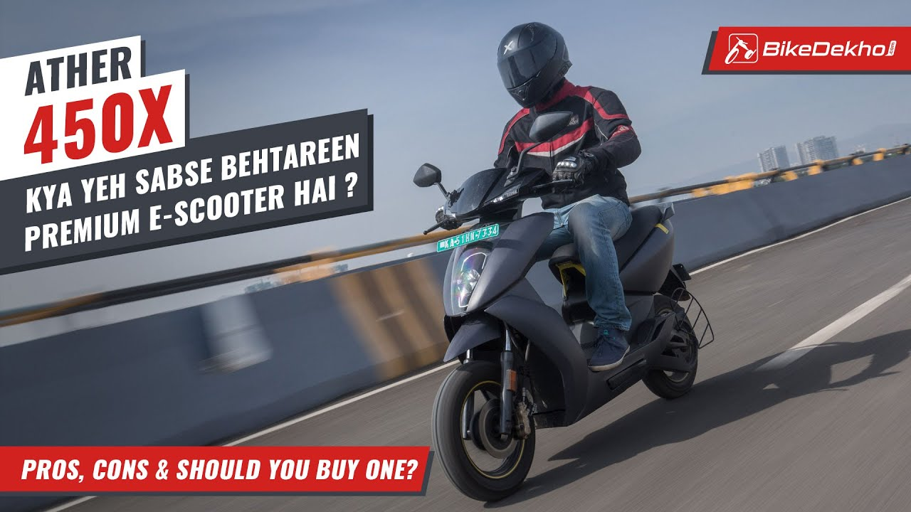 Ather 450X - Pros, Cons and Should You Buy One | India's best premium electric scooter? | In Hindi