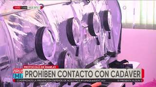 Sedes explica protocolo para los casos de fallecimiento por coronavirus