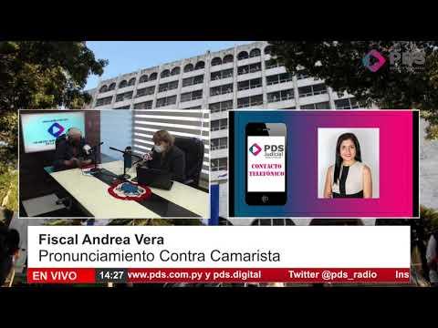 Entrevista - Fiscal Andrea Vera - Pronunciamiento contra Camarista