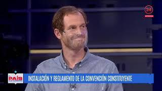 Chile El País que Queremos: Instalación y el reglamento de la Convención Constituyente