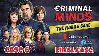 Criminal minds the mobile game case 6 (final case) gameplay Android/ios