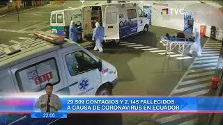 29.509 contagios y 2.145 fallecidos a causa de coronavirus en Ecuador