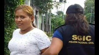 Tres mujeres fueron detenidas en Retalhuleu