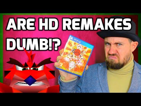 connectYoutube - Are HD Game Remakes & Remasters Dumb!? - Retro Gaming Rant - Ask Top Hat