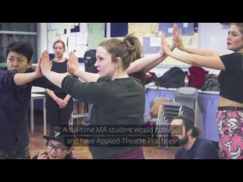 MA Applied Theatre and Intervention at the University of Leeds