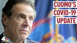 Gov. Andrew Cuomo Updates on NY Coronavirus Response   NBC New York