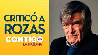 """Camilo Escalona: """"El general Rozas no me da confianza"""" - Contigo En La Mañana"""