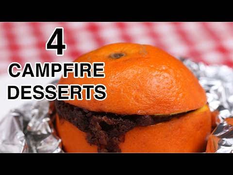 4 Easy Campfire Desserts