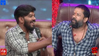 Baba Bhaskar Hilarious Punches on Sudheer  - Dhee Champions (#Dhee12) - 23rd September 2020 - MALLEMALATV