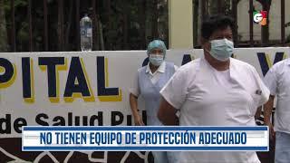 Hospital San Vicente  atiende casos de coronavirus, pero personal no tiene equipo de protección