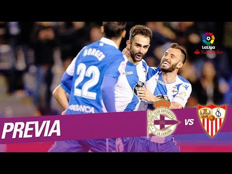 Previa RC Deportivo vs Sevilla FC