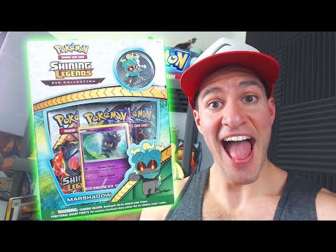 POKEMON SHINING LEGENDS MARSHADOW BOX OPENING!