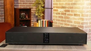 Pioneer's Speaker Base: Powerful sound under your TV
