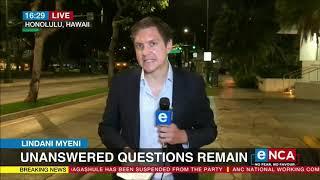 Lindani Myeni | Unanswered questions remain