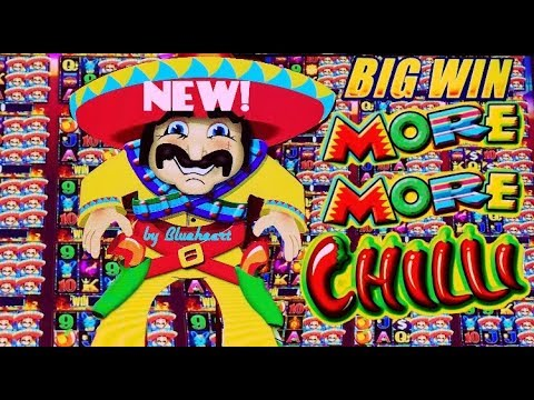 connectYoutube - ★FIRST TRY BAM!★ New MORE MORE CHILLI slot machine EVERY FEATURE AMAZING RUN!