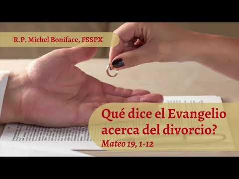 ¿Que dice el Evangelio acerca del divorcio | Mateo 19, 1-12