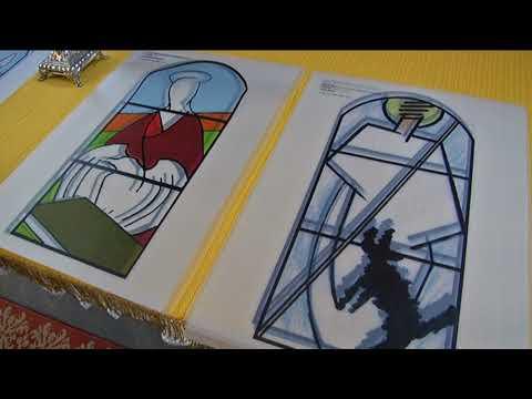Svárov - představení nových vitráží