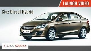 2015 Maruti Ciaz Hybrid Launch| CarDekho.com