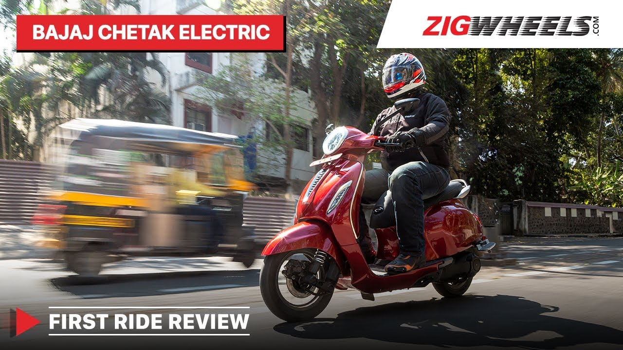 Bajaj Chetak Electric Scooter First Ride Review | Range, Top Speed, Charging, Price & More