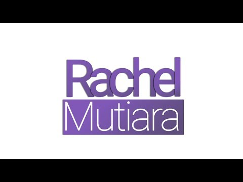 Rachel Mutiara ( Logo and intro )