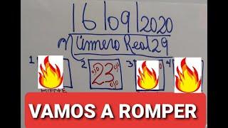 NUMEROS PARA HOY 16/09/2020 DE SEPTIEMBRE PARA TODAS LAS LOTERIAS