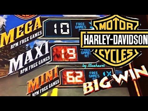 connectYoutube - HARLEY DAVIDSON slot machine LIVE PLAY BONUS WINS!