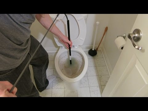 Download Youtube mp3 - HOW TO UNCLOG A TOILET: AUGER A TOILET ...