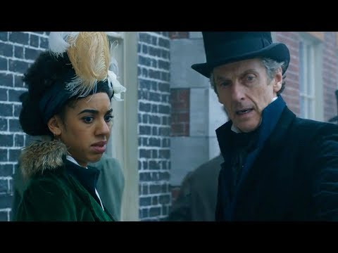 Walking on the River Thames - Thin Ice - Doctor Who - BBC
