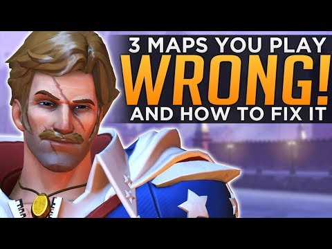Overwatch: 3 Maps EVERYONE Plays WRONG!