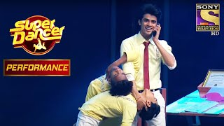 Ritik, Pratik और Laxman ने पाया Dharmesh का Grand Salute | Super Dancer Chapter 2 - SETINDIA