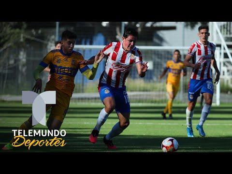 Highlights & Goals | Chivas vs. Tigres 1-1 | Sub-20 | Telemundo Deportes