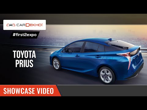 #first2expo | 2016 Toyota Prius | Launch Video | CarDekho@AutoExpo2016