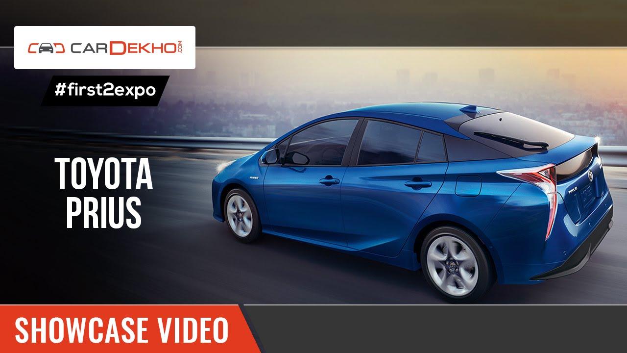 #first2expo | 2016 Toyota Prius | Launch Video | CarDekho@AutoExpo2016